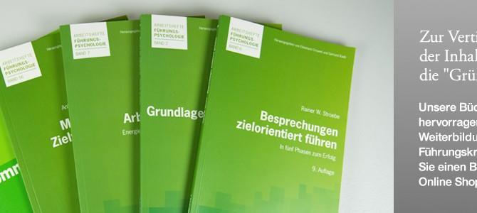 """Zur Vertiefung der Inhalte: die """"Grüne Reihe""""."""
