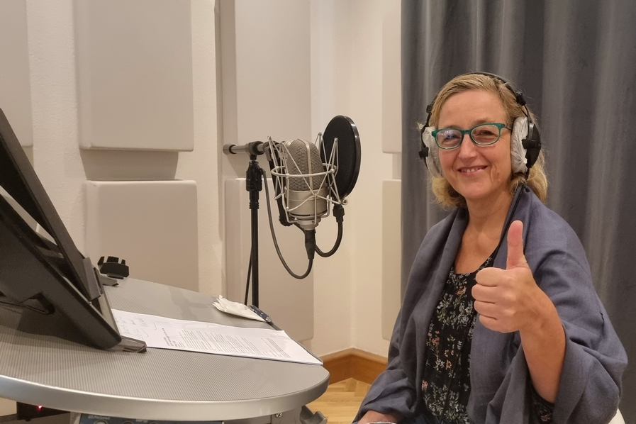Aufnahme des Podcasts Aspekte für den Start in das New Normal im Herbst